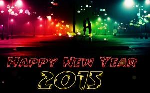 happy new year 2015 romantic wallpaper